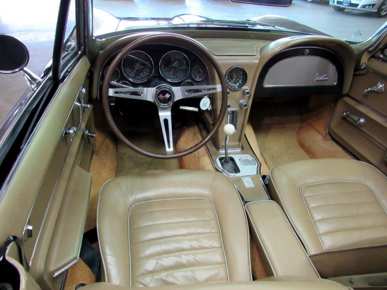 1966 Black Chevrolet Corvette Convertible  | C2 Corvette Photo 9