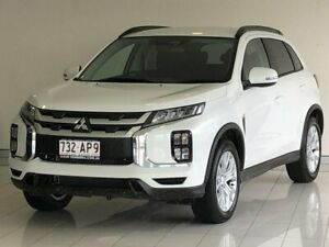 2020 Mitsubishi ASX XD MY21 LS 2WD White 1 Speed Constant Variable Wagon Ashmore Gold Coast City Preview