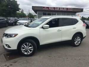 2014 Nissan Rogue 2014 NISSAN ROGUE SV|PANOROOF|AWD|117K|WHITE O