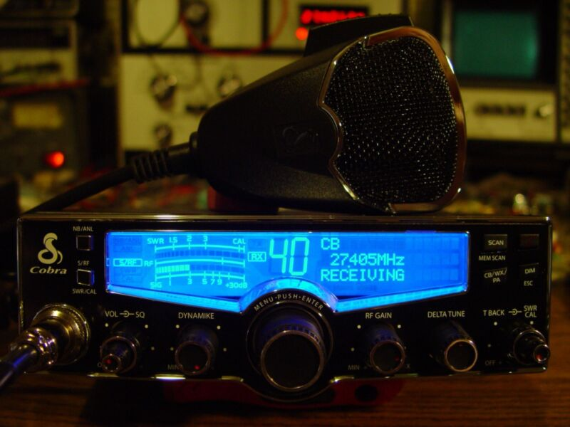 COBRA 29 LX CB RADIO,SUPERTUNED,FINALS WITH HIGH REC KIT INSTALLED,POWERFUL!!