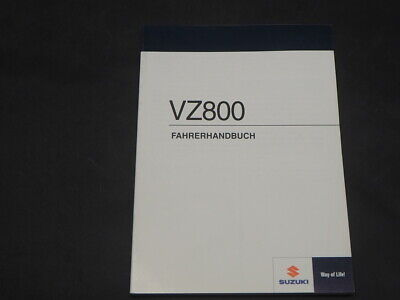 SUZUKI VZ800 L0 2010 FAHRERHANDBUCH OWNER MANUAL