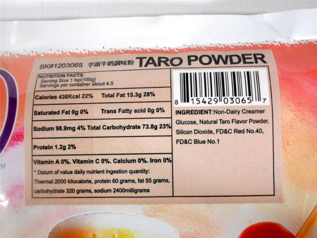 Cha-Bon-Bon Milk Powder Mix Assorted Flavors for Smoothie Boba Bubble Tea 1 Lb.