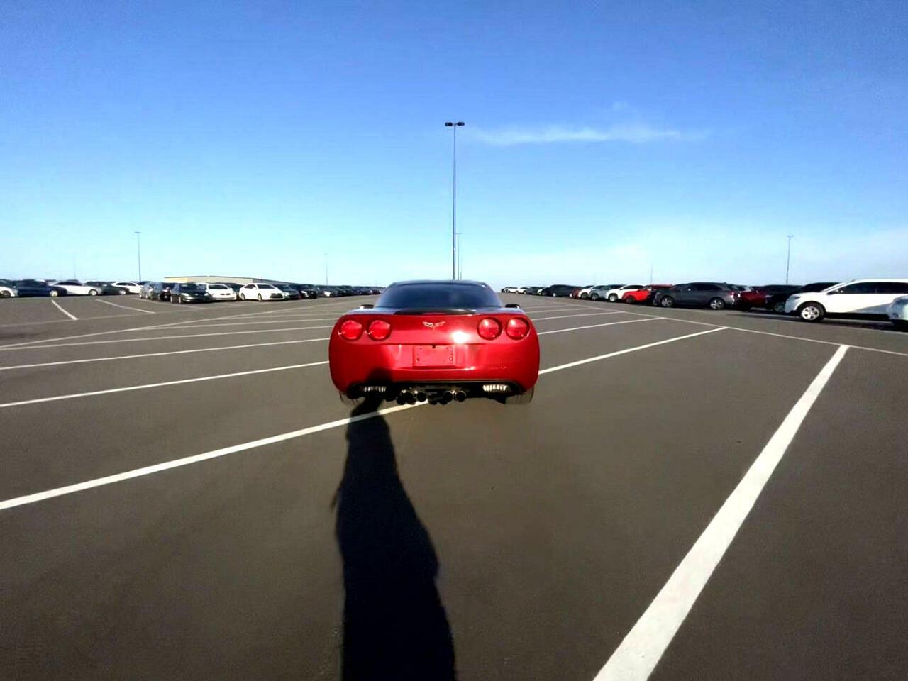 2008 Burgundy Chevrolet Corvette Coupe    C6 Corvette Photo 4