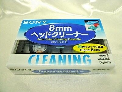 SONY Official Hi8 Digital 8/8 mm Video Head Cleaner Japan Import Free shipping