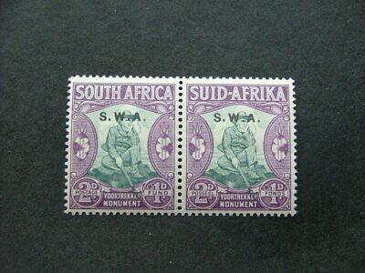 South West Africa 1935-36 Voortrekker Monument 2d+1d SG94 UM/MNH Pair