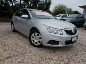 2012 Holden Cruze JH Series II MY12 CD Silver 6 Speed Sports Automatic Hatchback Bayswater North Maroondah Area Preview