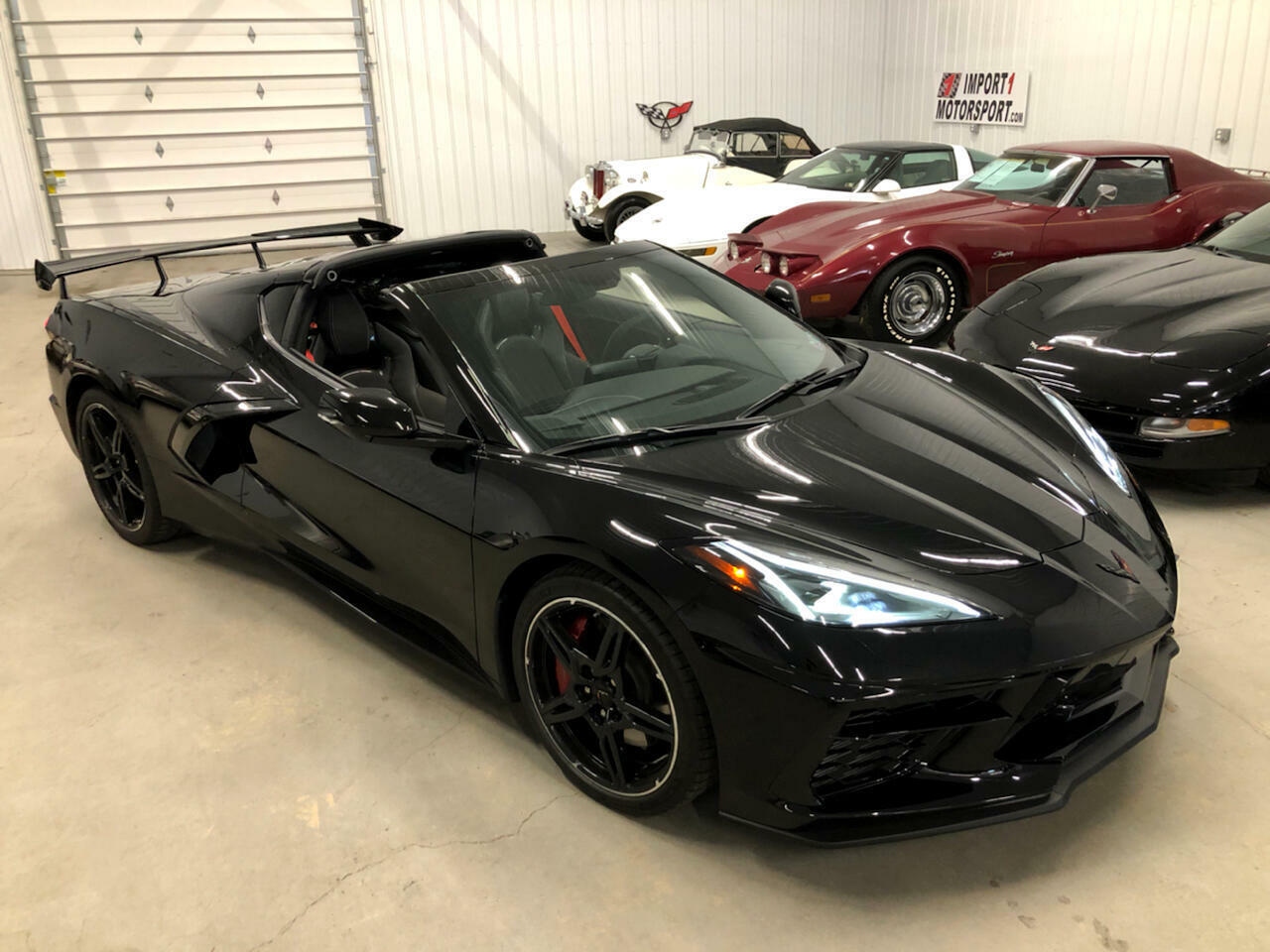 2020 Black Chevrolet Corvette Coupe 1LT | C7 Corvette Photo 2