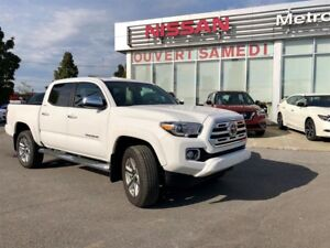 2018 Toyota Tacoma LIMITED, Double Cab V6 4WD, NAV, CAM, WOW, VE