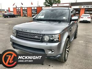2013 Land Rover Range Rover Sport Supercharged / Leather / Roof