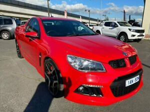 2013 Holden Special Vehicles Maloo Gen-F MY14 R8 Red 6 Speed Manual Utility