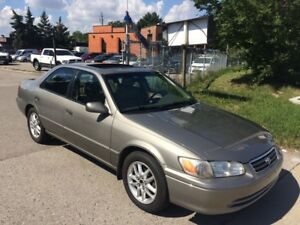 2000 Toyota Camry XLE,AUTO,S/R,207K,SAFETY+3YEARS WARANTY INCLUD