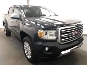 2017 GMC Canyon SLT HEATED LEATHER, 4WD, REAR VISION CAMERA