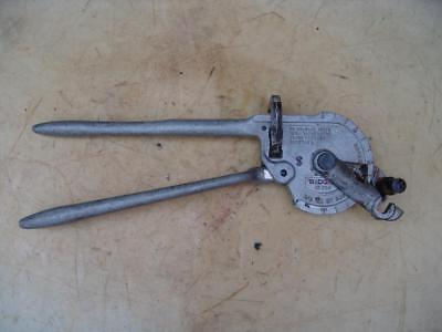 Ridgid Ratchet Pipe Tube Bender Model 358 58 Inch Od Works Fine 8