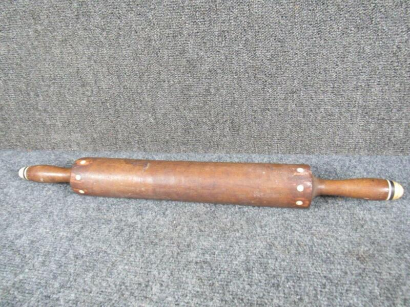 ANTIQUE 19THc. SAILOR MADE MARATIME ROLLING PIN