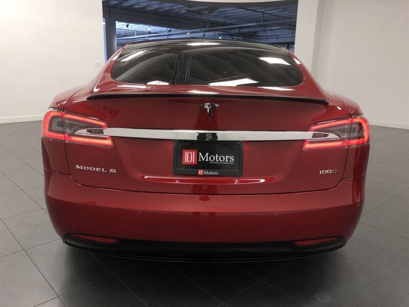 Image 5 Coche Americano usado Tesla Model S 2017