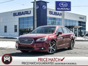 2015 Subaru Legacy LIMITED WITH  NAVIGATION LEATHER  AND REVERSE