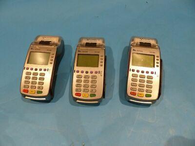 3 Verifone Vx520 Credit Card Pos Terminals W Receipt Printers
