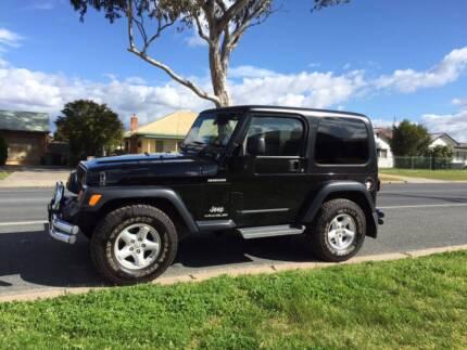 2005 Jeep Wrangler Renegade - Dual Top Albury Albury Area Preview