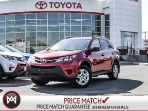 2015 Toyota RAV4 LE: PRIVACY GLASS, BLUETOOTH, BACK UP CAM LOOK