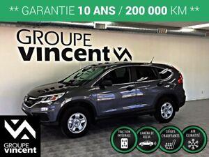 2016 Honda CR-V LX AWD **GARANTIE 10 ANS**