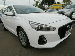 2019 Hyundai i30 PD2 MY19 Active White 6 Speed Sports Automatic Hatchback Mount Gravatt Brisbane South East Preview
