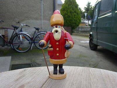 R Altes DDR Räuchermännchen (Weihnachtsmann) Original Erzgebirge, Unbenutzt