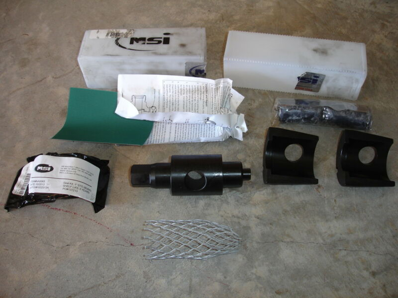 "MSI 1"" Plug Valve Repair Kit VA0073 B255845 STA:K198 NEW"