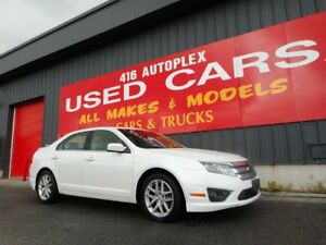 2010 Ford Fusion SEL AWD Leather