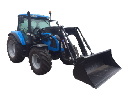 TRACTOR LANDINI 6-130C WITH TRIMA FRONT END LOADER