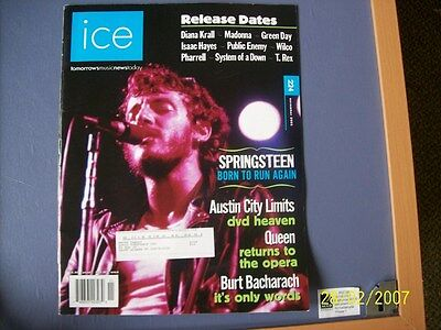 Ice Magazine Tomorrows Music News Today Issue 224  Nov 2005 Springsteen  Queen