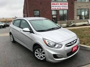 Sporty 2012 Hyundai Accent GL 1.6L 6-Speed Sold Fully Certified!