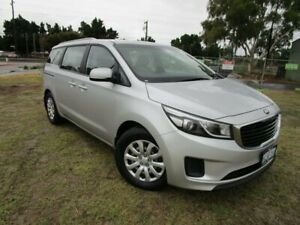 2017 Kia Carnival YP MY17 S Silky Silver 6 Speed Sports Automatic Wagon Bassendean Bassendean Area Preview