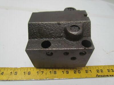 Hyundai Hit-15s 45442 Cnc Lathe Turret Tool Tooling Holder