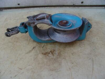 Lindsey 6.5 Block Tackle Aluminum Snatch Pulley 902-12 2
