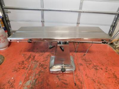 Shor-line Hydraulic V-top Veterinary Surgical Table 19w X 58l- No Heat Control