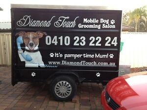 Dog grooming trailer / business for sale Campbelltown area St Andrews Campbelltown Area Preview