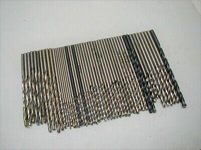 Letter T Drill Bits Jobber Length HSS Drills Black Oxide Made In Germany 20 Pack