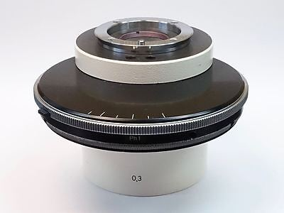 Zeiss Phase Contrast Condenser For Axiovert 100 Inverted Microscope Pn 451756