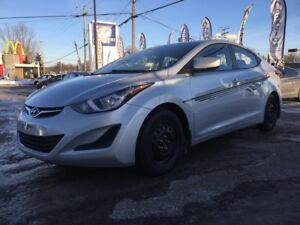 2014 Hyundai Elantra Ready for the winter with its 8 tires and w