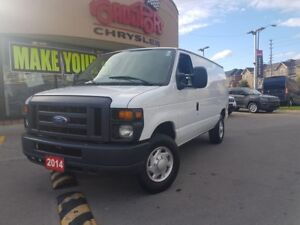 2014 Ford E250 Commercial 5.4L CARGO VAN GOOD TIRES BIG MIRRORS