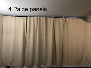 rare size curtains