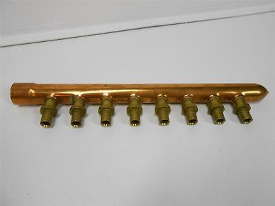 Wirsbo K2821050 1 Copper Manifold W 8 12 Apr Outlets