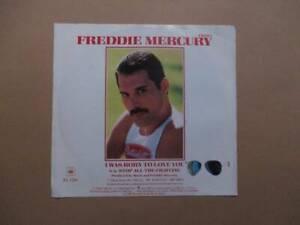 freddie mercury - i was born to love you  - 7  vinyl record