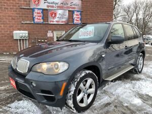 2011 BMW X5 35d/DIESEL/NO ACCIDENT/CERTIFIED/WARRANTY INCLUDED
