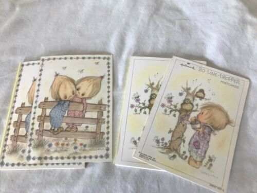Vintage Betsey Clark Postcards1970s Betsy (20) Line Dropper 2 Packs Near Full