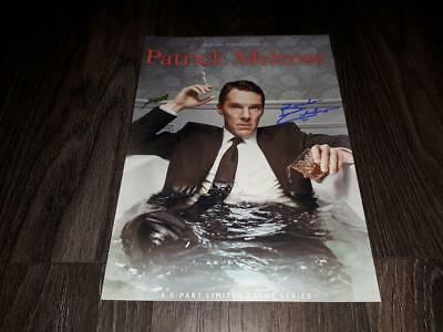 "PATRICK MELROSE PP SIGNED 12""X8"" A4 PHOTO POSTER AUTOGRAPH BENEDICT CUMBERBATCH"