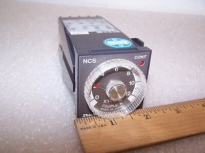 Shinko Temperature Limit Control 110-re 0-12x100c Thermocouple Type-k 200v D43