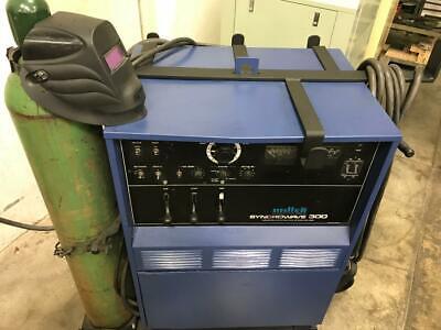 Miller Syncrowave 300 Welder Cart