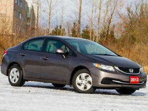 2013 Honda Civic LX - BLUETOOTH|HEATED FRONT SEATS|CRUISE CONTRO