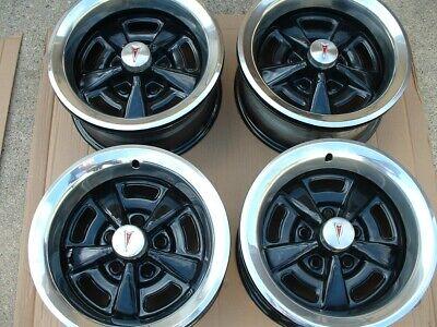 Pontiac Rally Road Wheels Rims 15 x 7 Firebird LeMans Trans Am